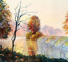 Autumn on the Ouse by Glenn Marshall