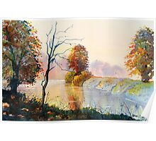 Autumn on the Ouse Poster
