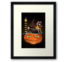 Halloween Madness Framed Print