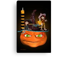 Halloween Madness Canvas Print