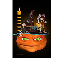 Halloween Madness Photographic Print