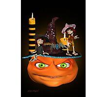 Halloween Madness Photographic Print