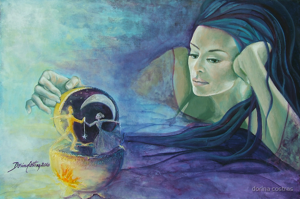 """""""Celestial dance"""" from """"Impossible love"""" series by dorina costras"""