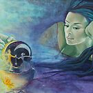"""Celestial dance"" from ""Impossible love"" series by dorina costras"