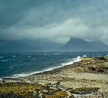 Loch Scavaig from Elgol by Geoff Spivey