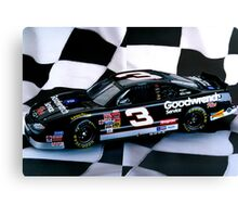 Tribute to my favorite driver..R. I. P. Dale...#3 forever Canvas Print