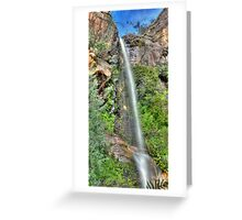 Beehive Falls Color Greeting Card
