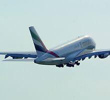 AirBus A380  by Darren Kitchen