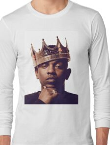 "Kendrick Lamar - ""The king"" Long Sleeve T-Shirt"