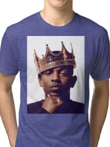 "Kendrick Lamar - ""The king"" Tri-blend T-Shirt"