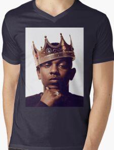 "Kendrick Lamar - ""The king"" Mens V-Neck T-Shirt"