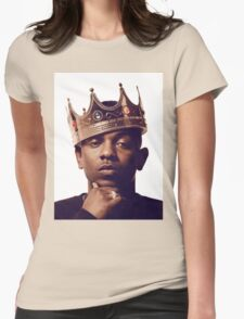 "Kendrick Lamar - ""The king"" Womens Fitted T-Shirt"