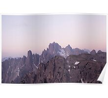 Beautiful Mountain Photograph Poster