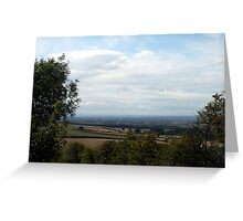 Butterwick down to York Greeting Card