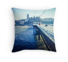 Cromer Pier, Norfolk Throw Pillow