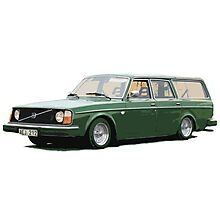Volvo 245 Photographic Print