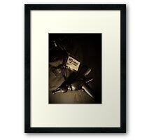 Time Travelers Bag 02 Framed Print