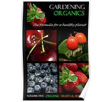 Book Cover: Organic Gardening Poster
