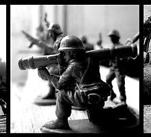 Terrace Soldiers by Ognjen Stevanović