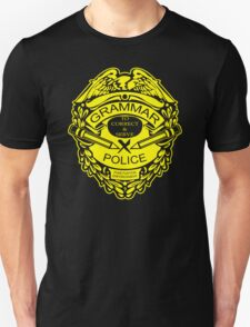 Grammar Police Funny T-Shirt & Hoodies T-Shirt