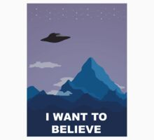 I WANT TO BELIEVE DRAWING by paton
