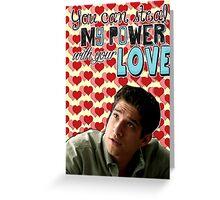 Season 5 Teen Wolf Greeting Cards [Scott] Greeting Card