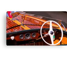 Classic Chris Craft Canvas Print