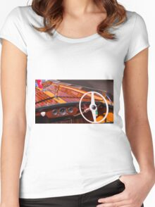 Classic Chris Craft Women's Fitted Scoop T-Shirt
