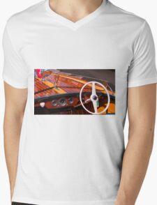 Classic Chris Craft Mens V-Neck T-Shirt