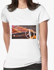 Classic Chris Craft Womens Fitted T-Shirt