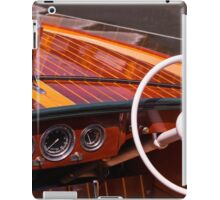 Classic Chris Craft iPad Case/Skin
