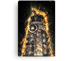 Doctor Who - Exploding Dalek Canvas Print