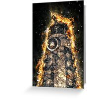 Doctor Who - Exploding Dalek Greeting Card