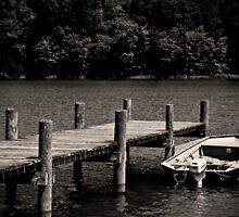 Pier and Boat by pault213