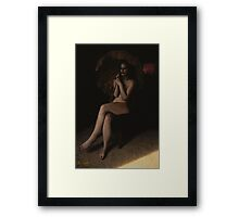 Death Picture Series Card 1 Framed Print