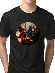 Break Glass In Case Of Bear Attack Tri-blend T-Shirt