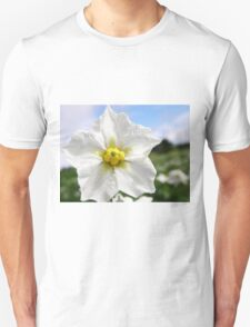 Potatoe Plant Flower Unisex T-Shirt