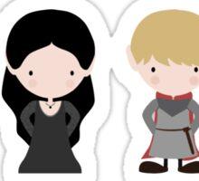 Merlin, Morgana, Arthur, Guinevere Sticker