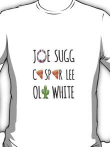 JASPOLI - Joe Sugg, Caspar Lee & Oli White T-Shirt