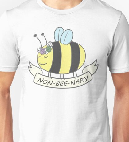 Nonbinary Pride Bee Unisex T-Shirt
