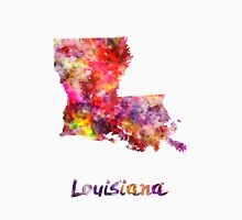 Louisiana US state in watercolor Unisex T-Shirt