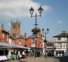 Market Day, Ludlow ~ Shropshire by hjaynefoster