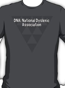 DNA: National Dyslexic Association T-Shirt