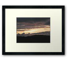 Honey sunset - Donegal Ireland Framed Print