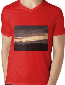 Honey sunset - Donegal Ireland Mens V-Neck T-Shirt