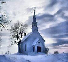 Country church by rok-e