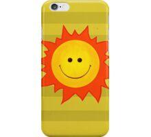 Happy Smiling Sun iPhone Case/Skin