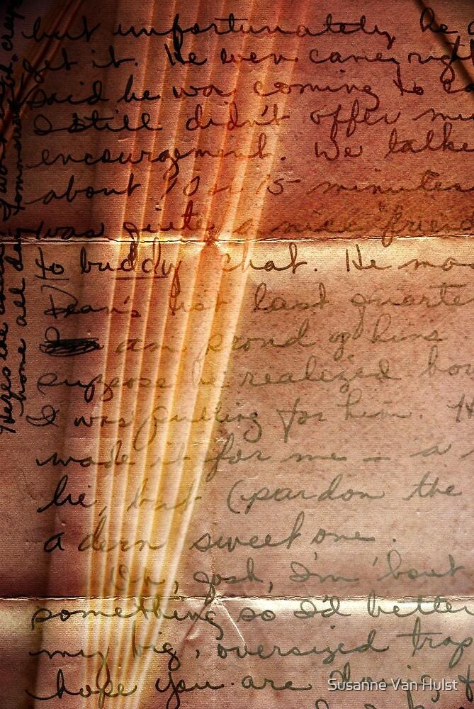 Love Letter by Susanne Van Hulst