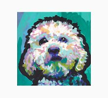 Poodle Maltipoo Dog Bright colorful pop dog art Unisex T-Shirt