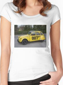 Citroën 2 CV 1981 Special Edition 007 Women's Fitted Scoop T-Shirt